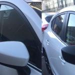 Covering voiture : rétroviseurs carbone